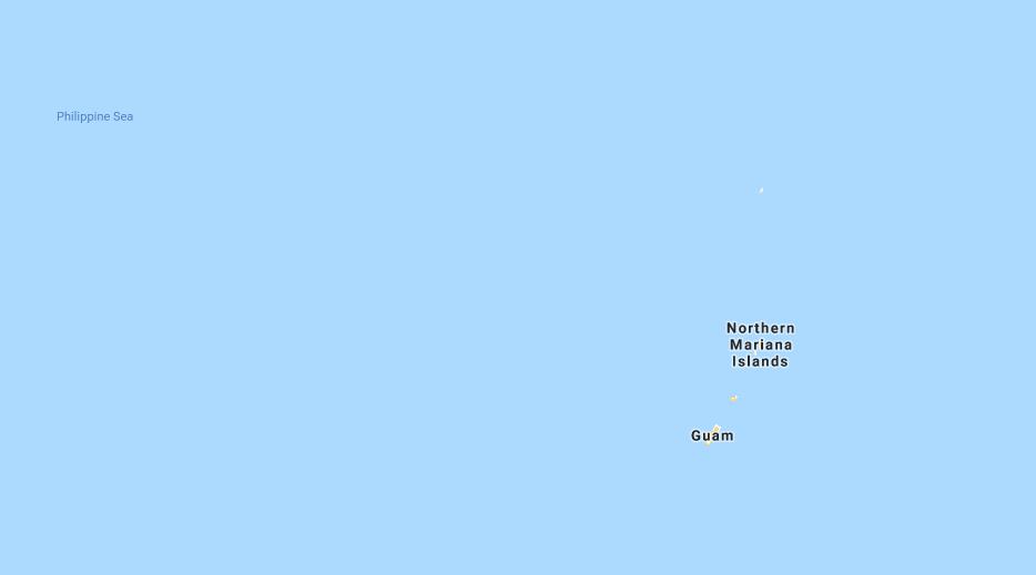 670 Area Code Map