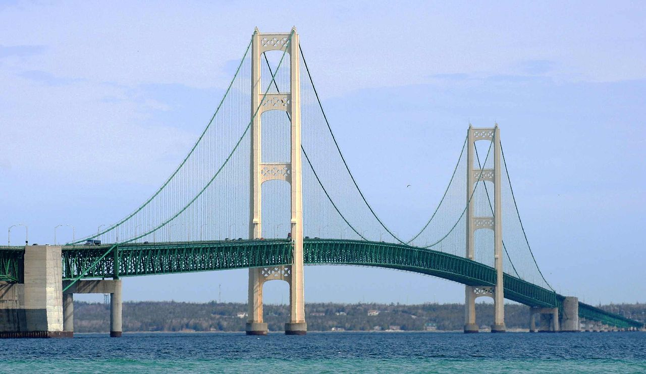 810 Area Code Mackinac Bridge