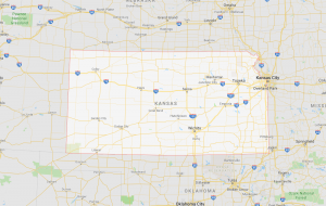 Area Code 316 Kansa Map